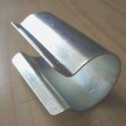 Clips acier ronds acier galvanisé par sachet de 10