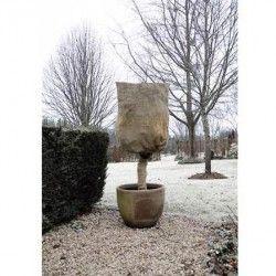 Housse d'hivernage 230 g en toile de jute