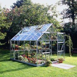 Serre jardin Magnum 108 en verre horticole - 8.30 m²