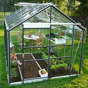 Serre En Verre Trempe Verre Horticole Ou En Polycarbonate Que