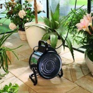 Poêle électrique pour serre de jardin