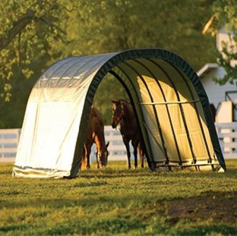 Les abris tunnels ACD vous permettent d'abriter votre véhicule, votre matériel de jardin, ou encore votre bétail. Ces abris sont de qualité professionnelle et très résistant.